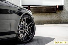 2014 Grey Mercedes-Banz S63 | Savini Wheels SV51-C
