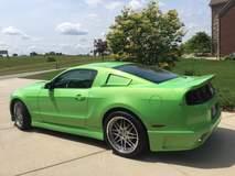 Mustang on Forgeline DE3P Wheels