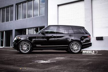 "2014 Land Rover Range Rover | OUR CLIENT'S RANGE ROVER WITH 22"" ASANTI DA-194 WHEELS"