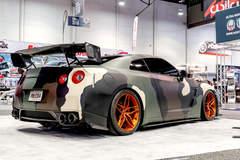 Atlanta Custom Wraps' R35 Nissan GT-R on Forgeline One Piece Forged Monoblock EX1 Wheels