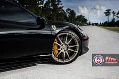 Ferrari 458 Italia on HRE P44SC