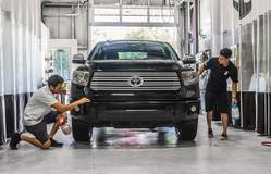 Toyota Tundra for Full Frontal XPEL ULTIMATE paint protection