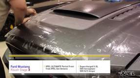 Roush Stage 3 Ford Mustang Protected with XPEL Clear Bra