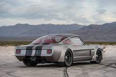 """Timeless Kustoms' Insane """"Vicious"""" '65 Mustang on Center-Locking Forgeline GT3C Concave Wheels"""