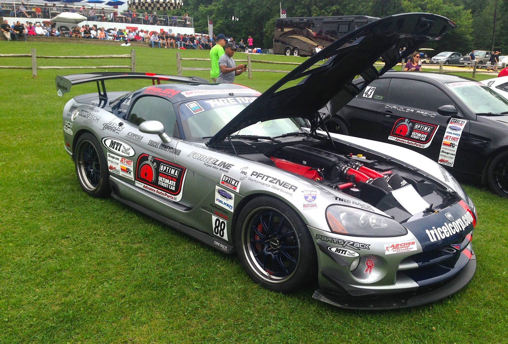 2008 Dodge Viper | Viper on Forgeline GA3R-6 Wheels