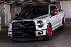 2015 CGS Performance Ford F-150 Lariat - Front View