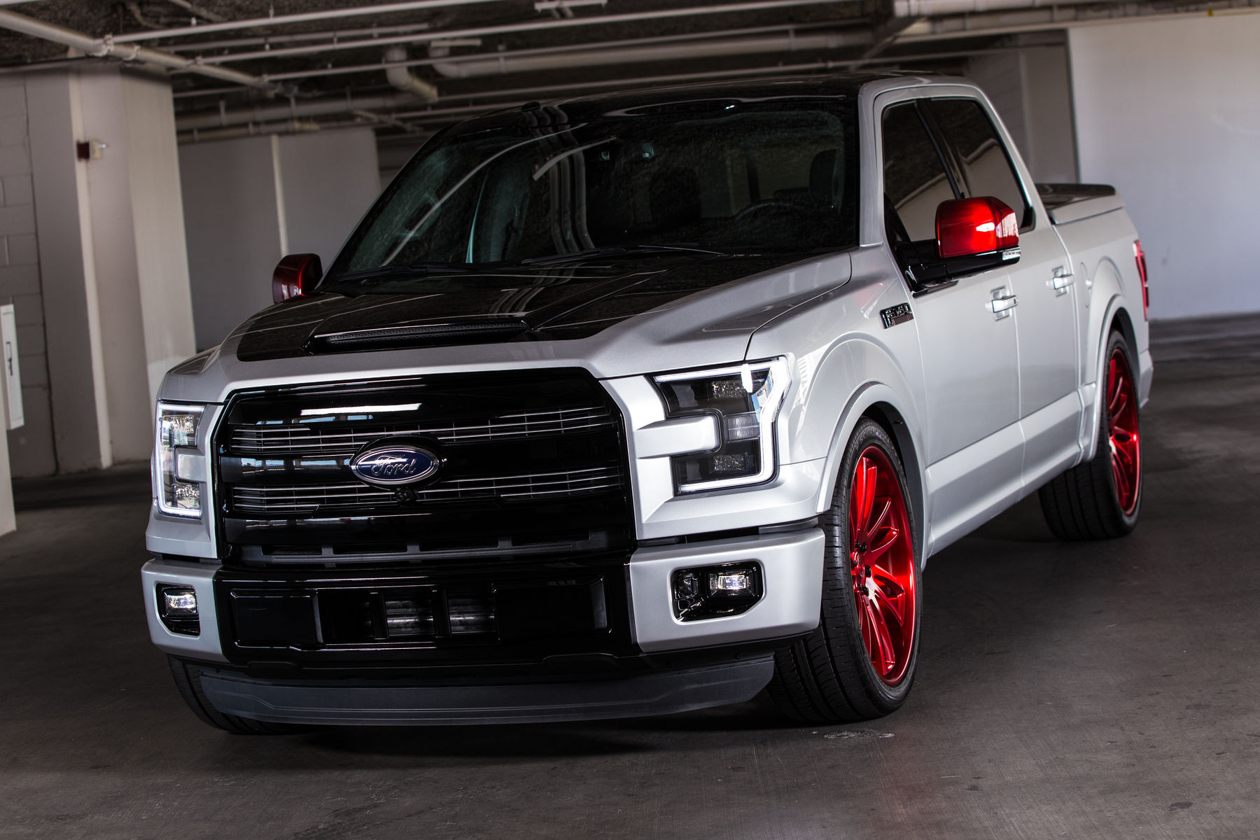 2015 Ford F-150 | 2015 CGS Performance Ford F-150 Lariat - Front View