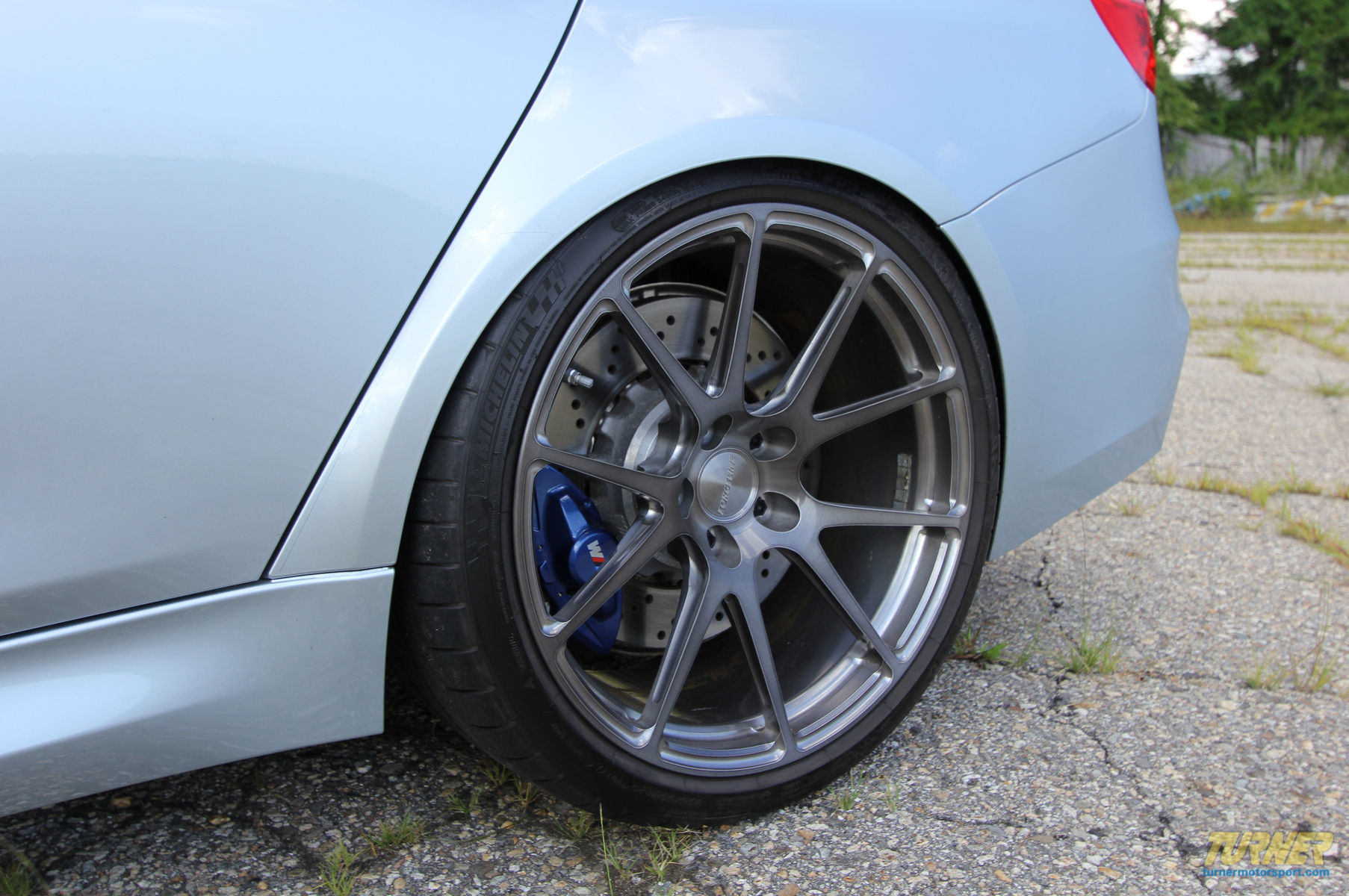2015 BMW M3 | Silverstone BMW F80 M3 on Forgeline GA1R Deep Cap Wheels