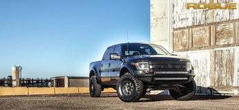 Ford Raptor with Rogue Racing Throttle Bumper