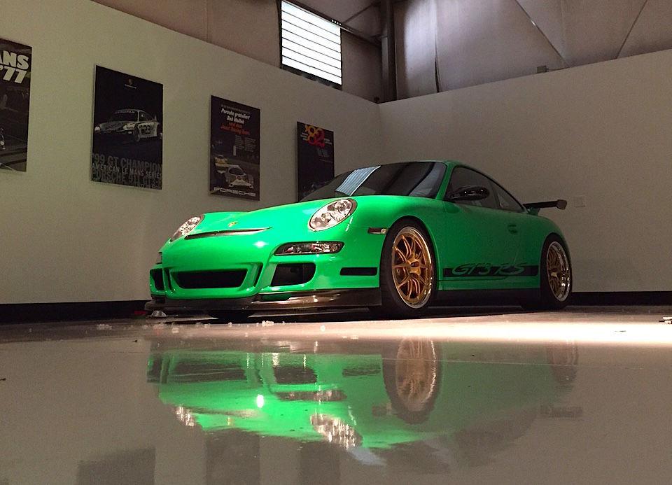 2008 Porsche 911 | Signal Green Porsche 997.1 GT3RS on Forgeline GA3R Wheels