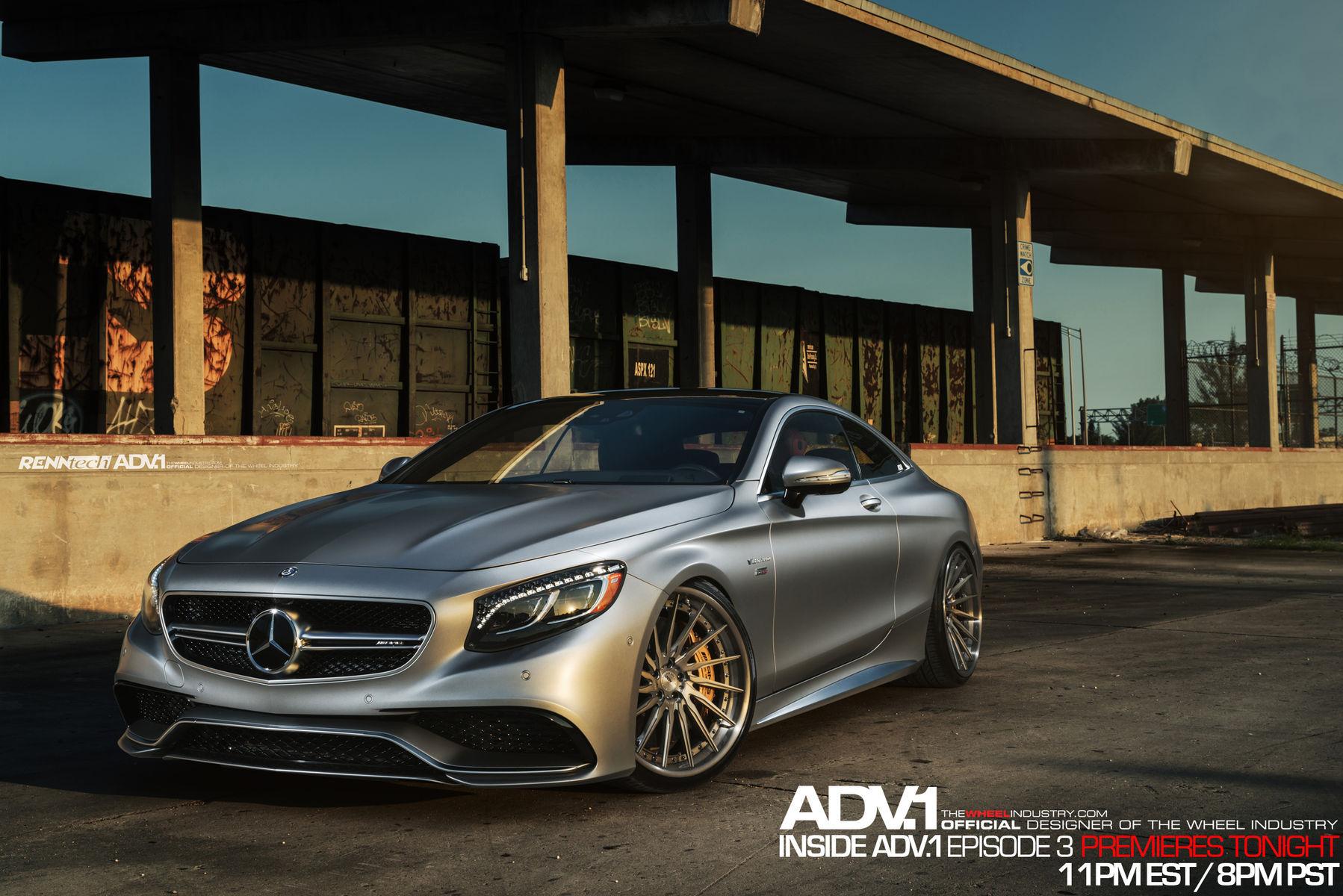 Mercedes-Benz S-Class | Inside ADV.1 : Mercedes S63 AMG