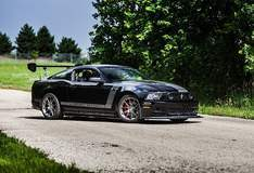 Kenny Brown Boss X Mustang on Forgeline One Piece Forged Monoblock GA1R Wheels