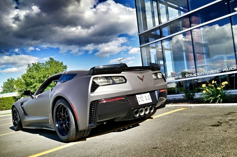 2015 Chevrolet Corvette Z06 |  C7 Z06 on Forgeline GA3R Wheels