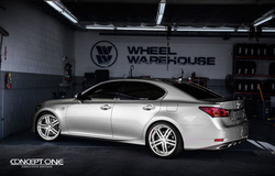 '13 Lexus GS350 on Concept One CS5.0's