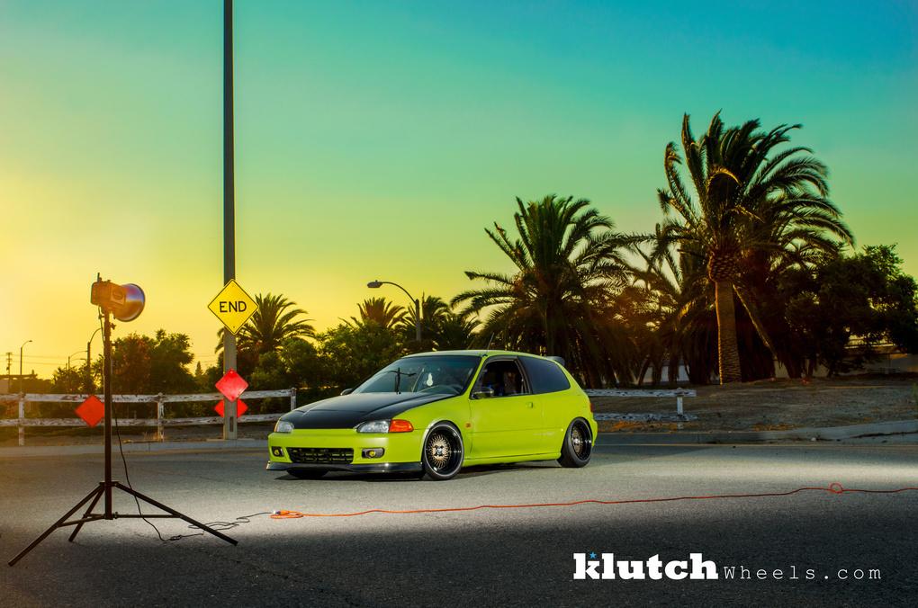 1993 Honda Civic | '93 Honda Civis Si on Klutch SL1's