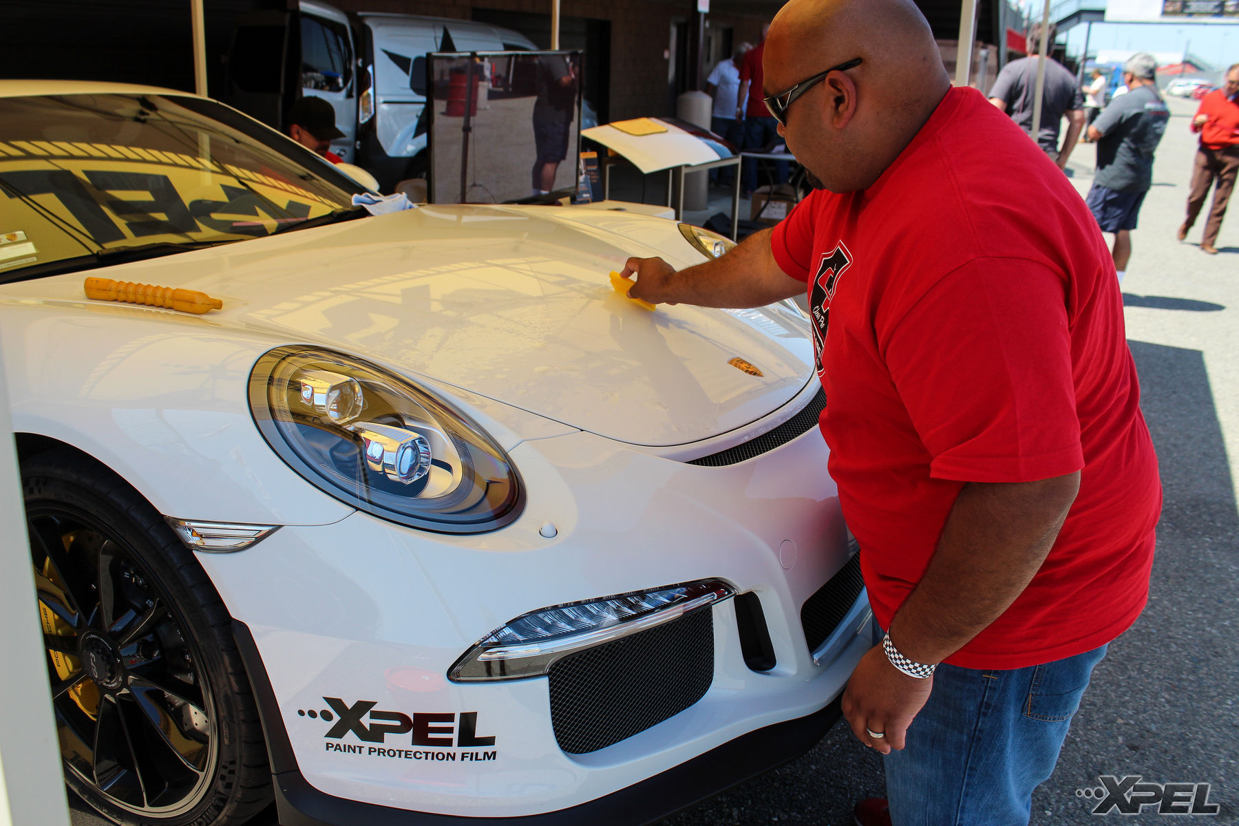 | XPEL booth at the California Festival of Speed with Clear Pro LLC