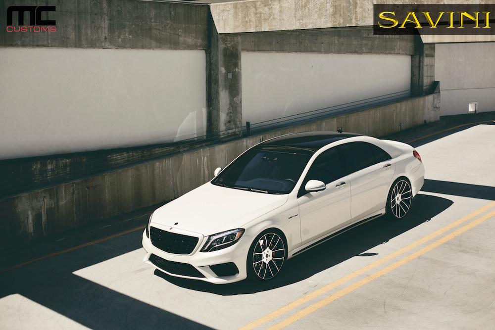 2014 Mercedes-Benz S-Class | '14 Mercedes S63 AMG on Savini Duoblock SV52's