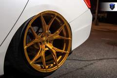Honda Accord - Gold Wheels