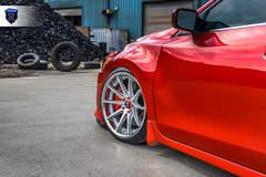 Custom Nissan Maxima - Front End Wheel Gap
