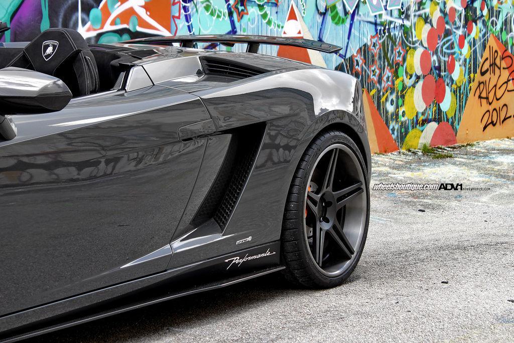 Lamborghini Gallardo | Lamborghini Gallardo Performante on ADV05 Deep Concave