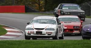 Mustang GT at Mid-Ohio - winning