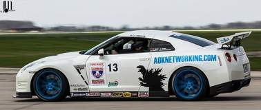 Bob Knoerzer's One Lap Nissan GT-R on Forgeline One Piece Forged Monoblock RB1 Wheels