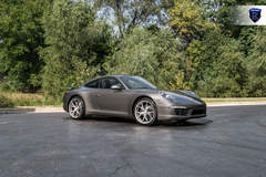 Charcoal Porsche 911 Carrera - Side