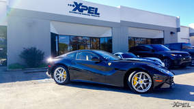 Ferrari protected with XPEL ULTIMATE