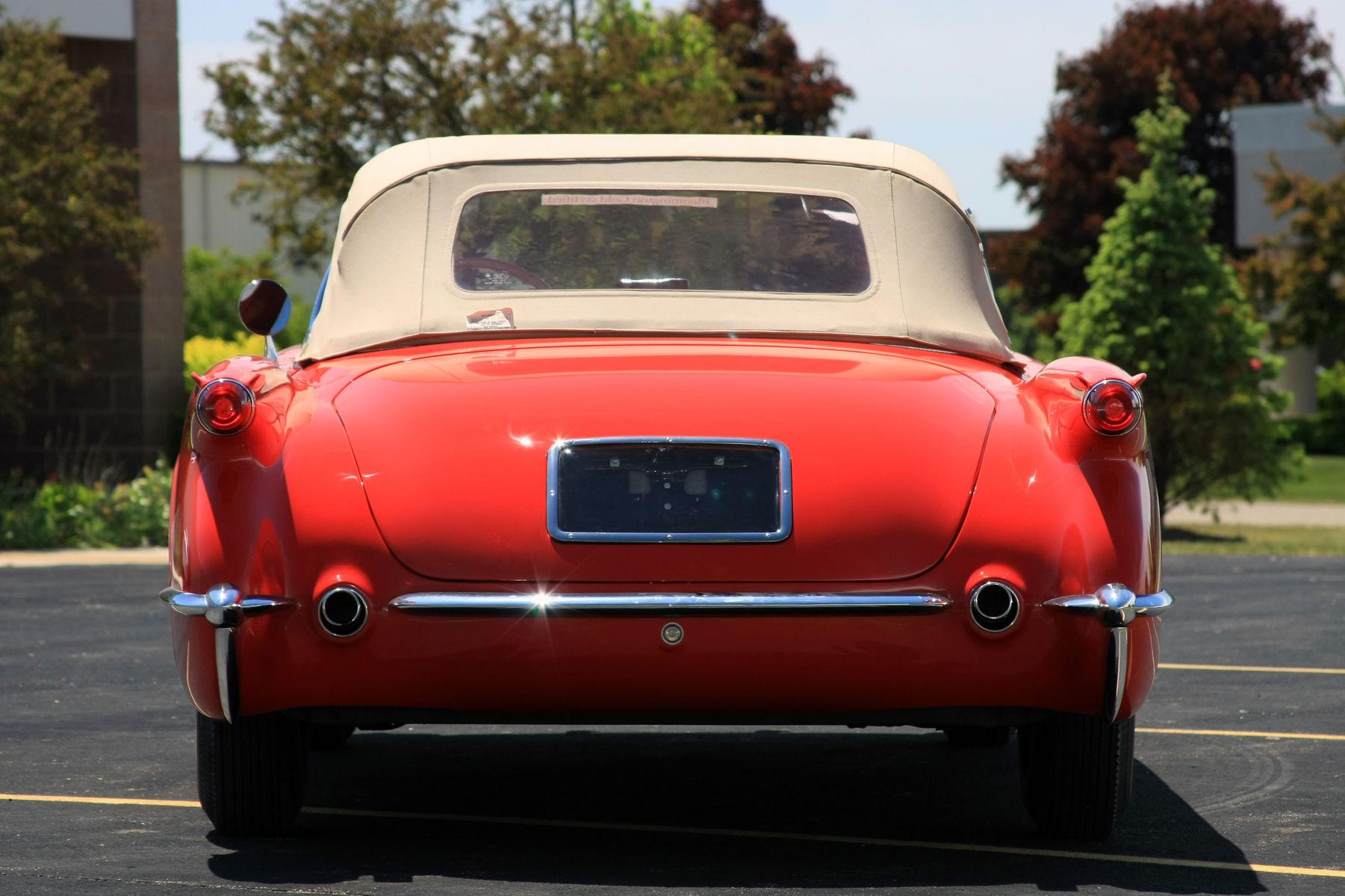 1954 Chevrolet Corvette | 1954 Chevrolet Corvette - Rear