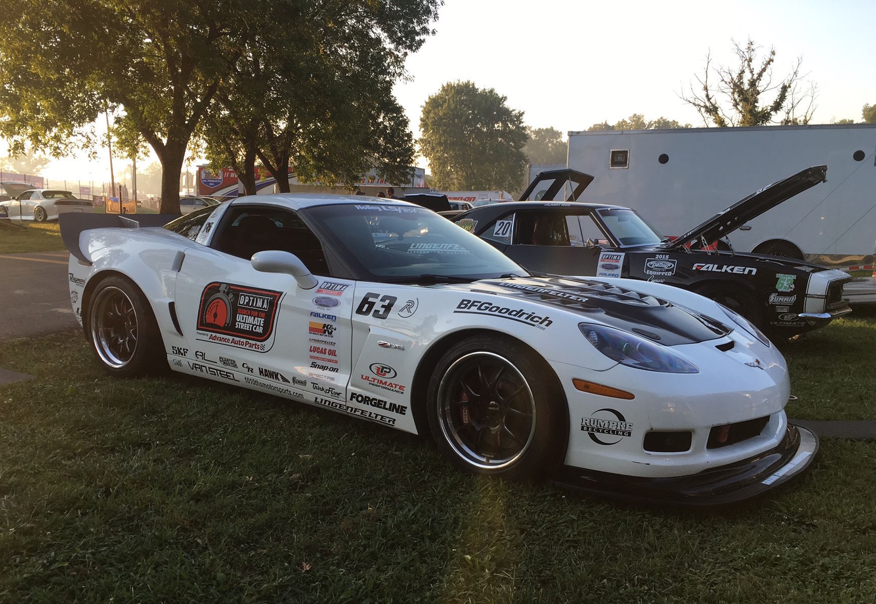 2016 Chevrolet Corvette Z06   Danny Popp and Todd Rumpke Share High Noon Shhotout Victory at 2016 LS Fest