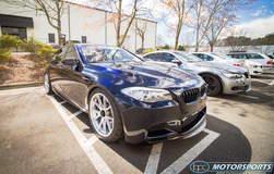 Ruben's Ronin Speed Industries BMW F10 M5 on Center Locking Forgeline One Piece Forged Monoblock GA1R Wheels