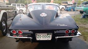 Split Window 1963 Corvette Stingray