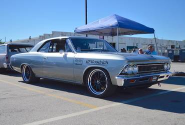 1966 Chevrolet Chevelle | Tom Farrington's Pro-Touring 1966 Chevelle on Forgeline ZX3 Wheels