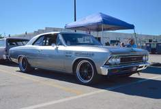 Tom Farrington's Pro-Touring 1966 Chevelle on Forgeline ZX3 Wheels