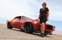 Mary Pozzi & Her Camaro on Forgeline GA3 Wheels