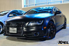 Audi A7 Stealth Matte-Finish Paint Protection Film