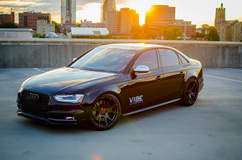 "Audi S4 on 20"" Vorsteiner Wheels - Aftermarket Wheels"