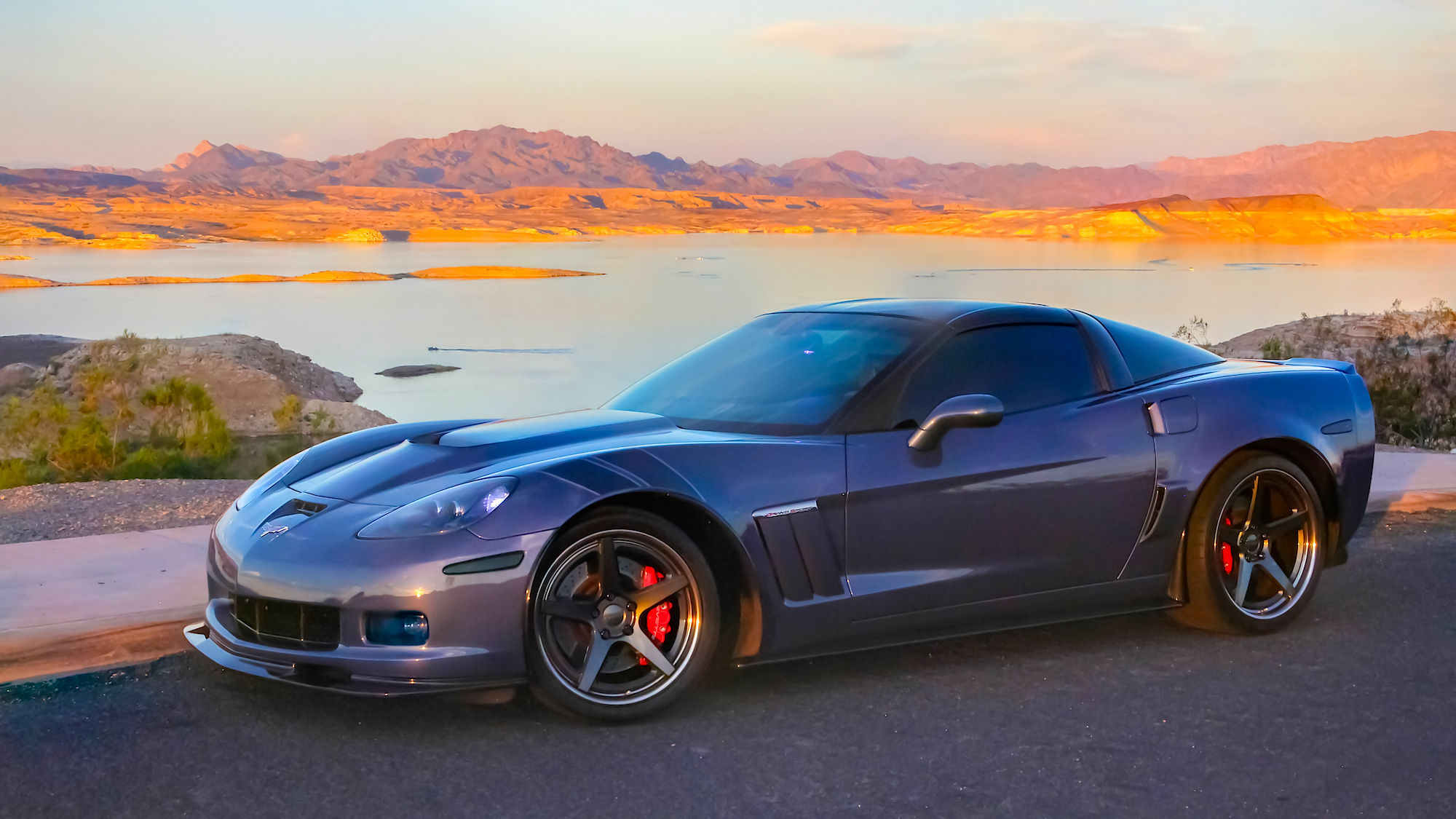 2013 Chevrolet Corvette | C6 Corvette on Forgeline CF3C-SL Wheels