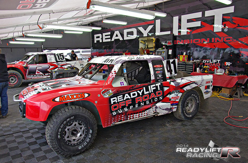 | Team ReadyLIFT in Lake Elsinore Pits for LOORRS
