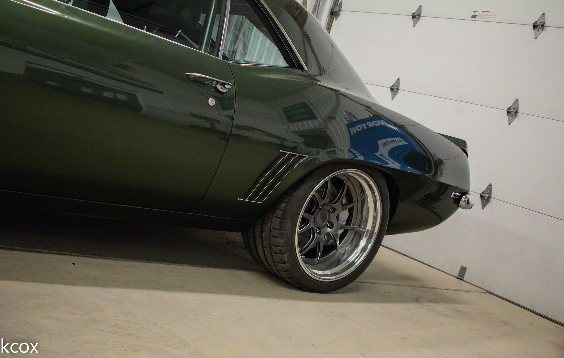 1969 Chevrolet Camaro | Chris Kinker's Fathom Green '69 Camaro on Forgeline GA3 Wheels