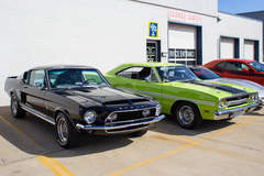 1968 GT500 and 1970 GTX