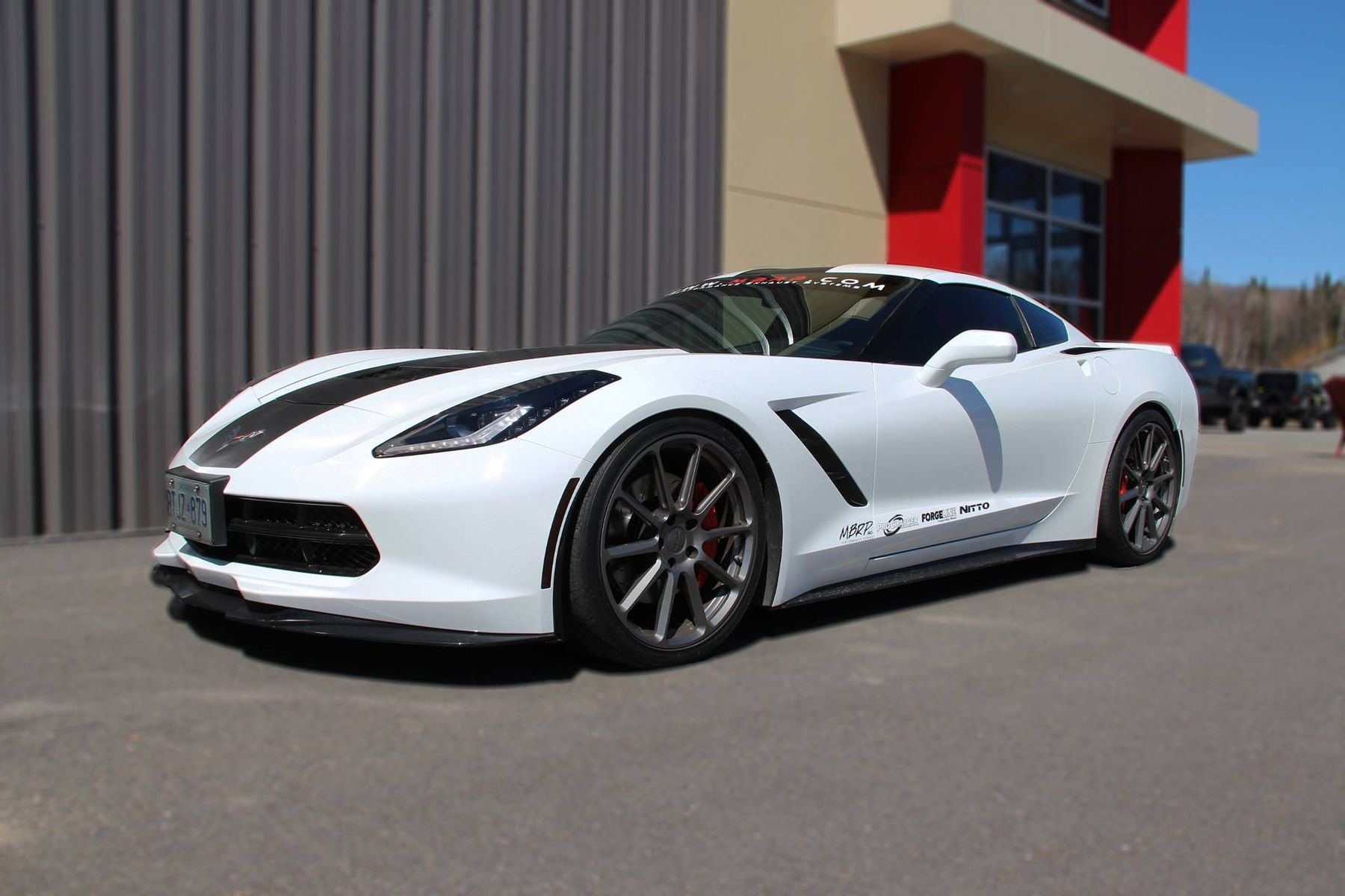 2014 Chevrolet Corvette |  MBRP Performance Exhaust Project C7 Corvette on Forgeline RB1 Wheels