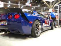 Danny Popp's RAFT Motorsports C5 Z06 on Forgeline GA3R Wheels - Angled Stance