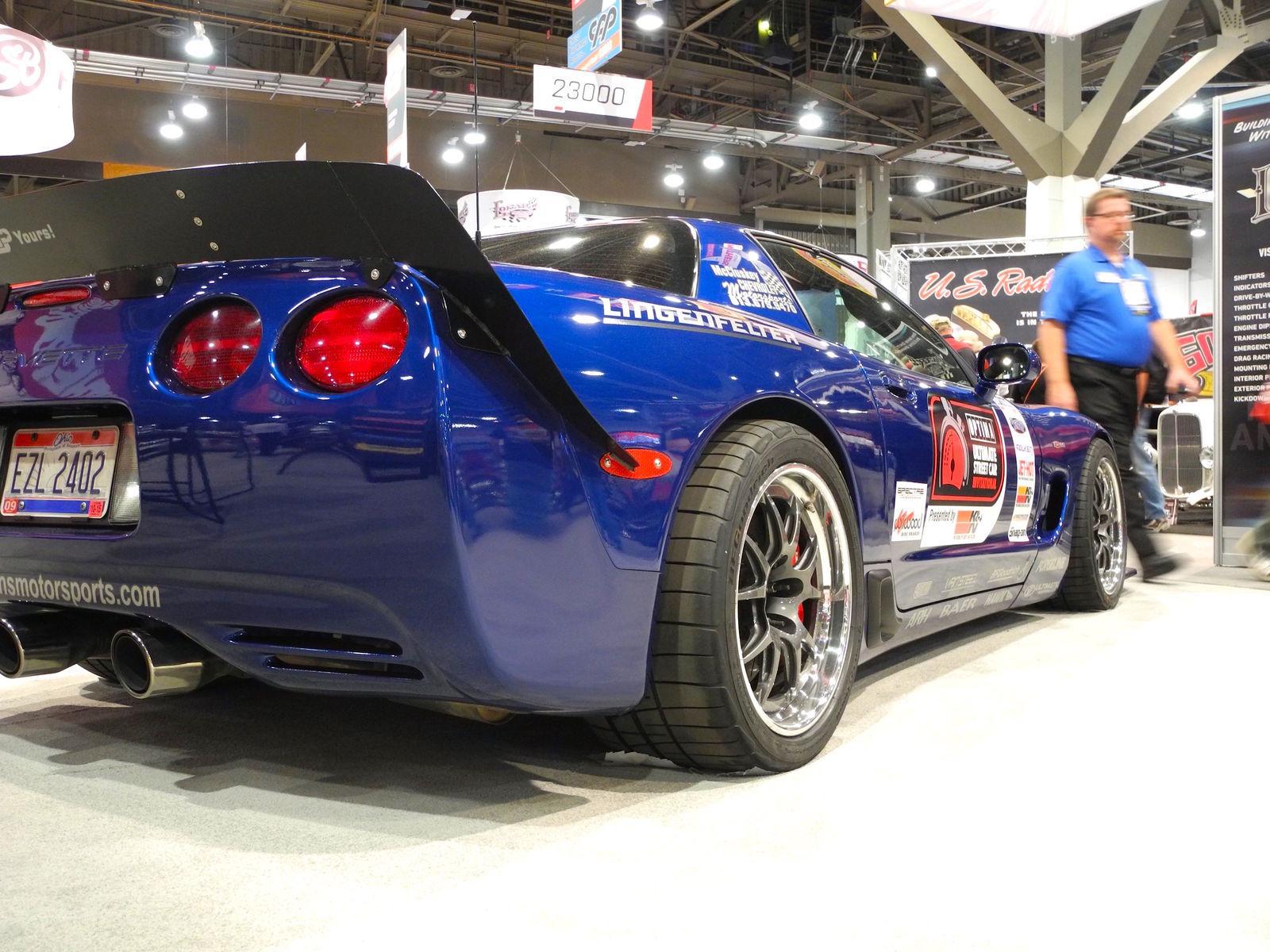 2003 Chevrolet Corvette Z06 | Danny Popp's RAFT Motorsports C5 Z06 on Forgeline GA3R Wheels - Angled Stance