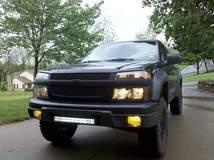 Blacked Out Chevrolet Colorado
