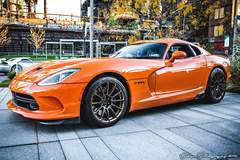 Bryan Savage's Dodge Viper TA on Forgeline One Piece Forged Monoblock GTD1-Viper Wheels