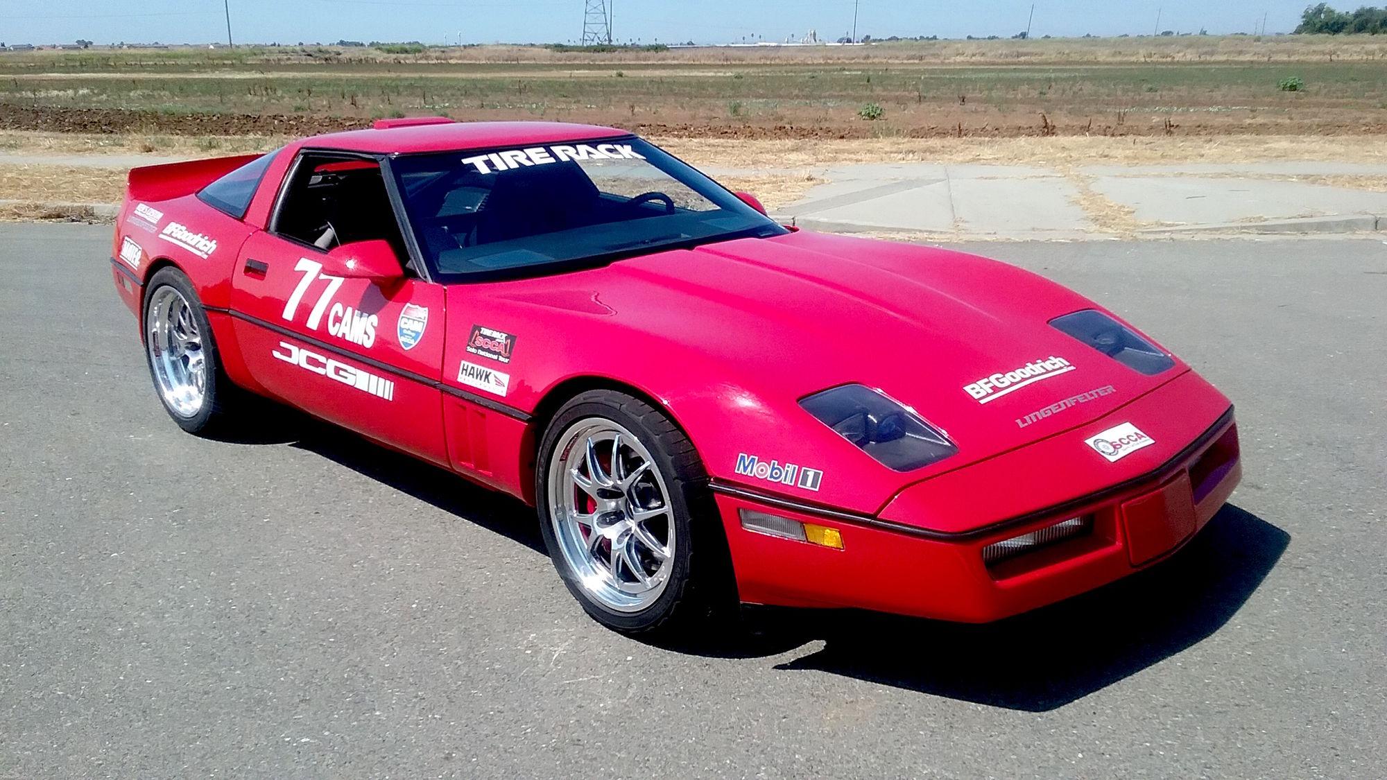 1989 Chevrolet Corvette | Kenny Mitchell's '89 Corvette on Forgeline GA3R Wheels