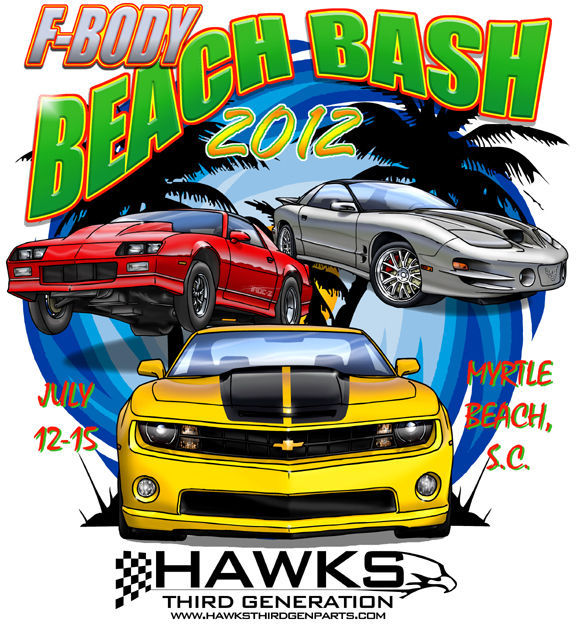 2010 Chevrolet Camaro | F-Body Beach Bash design