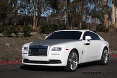 Two Tone Rolls Royce Wraith