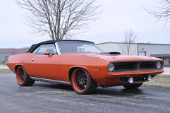 Schwartz Performance 1970 Plymouth Barracuda on Forgeline DE3P Wheels